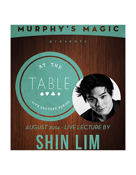 At the Table Live Lecture - Shin Lim - 8 august 2014