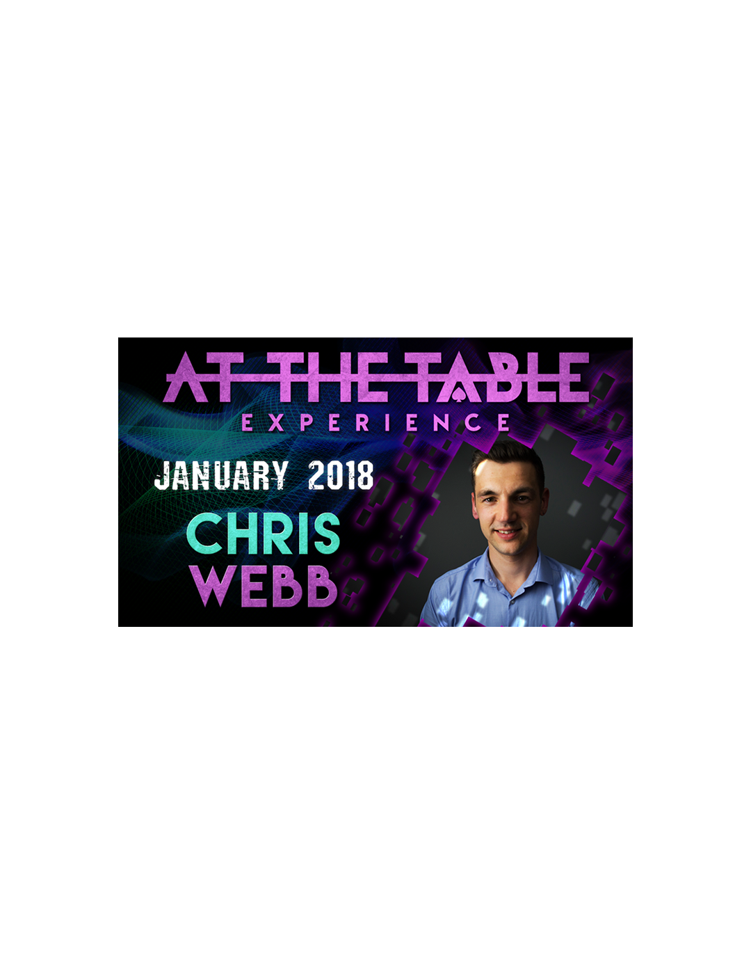 At The Table Live Lecture Chris Webb 3 ianuarie 2018 - At the table lecture