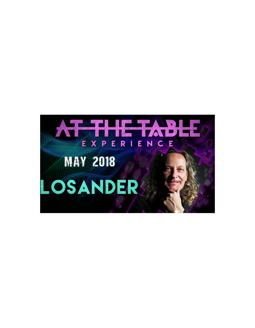 At The Table Live Losander 2 Mai 2018 - At the table lecture