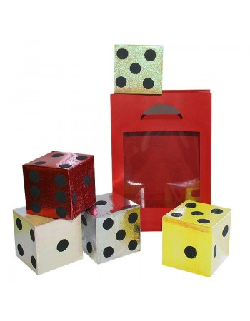 Dice from empty bag
