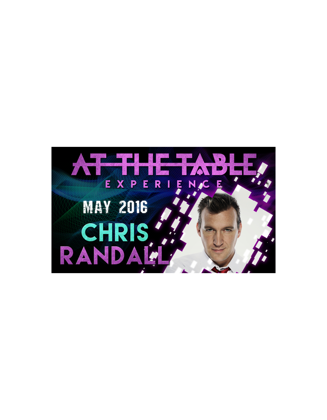 At the Table Live Lecture Chris Randall - 18 mai 2016 - At the table lecture
