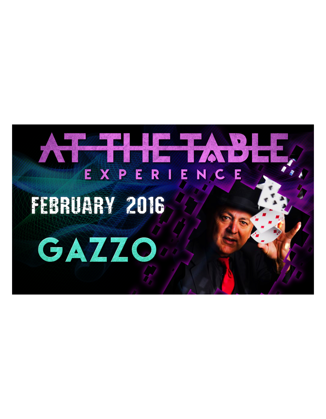 At the Table Live Lecture Gazzo - 3 februarie 2016 - At the table lecture