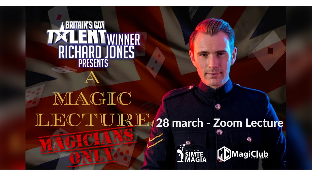 Seminar online Richard Jones - Castigator Britain's Got Talent